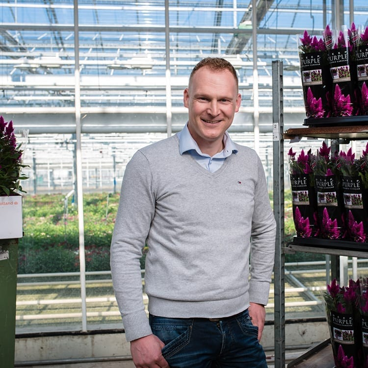 Jeroen Meeder, Area Export Manager Pot plants