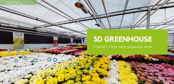3D virtual greenhouse Royal Van zanten